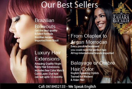 Hair extensions Bangkok Brazilian Blowouts