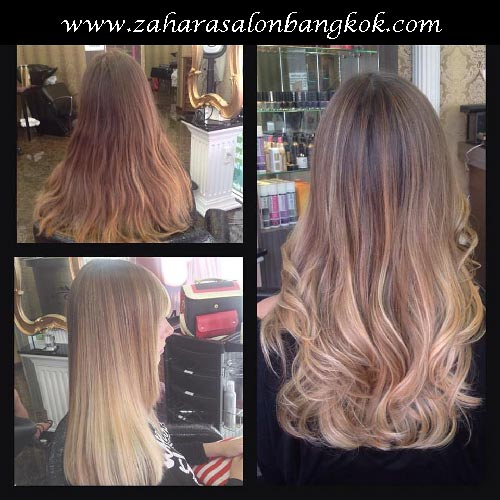 hair-highlights-bangkok-balayage-ombre